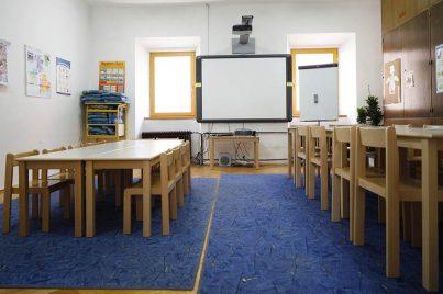 Prostori v Yureni, šoli tujih jezikov