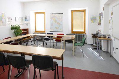 Učilnica v Yureni, šoli tujih jezikov